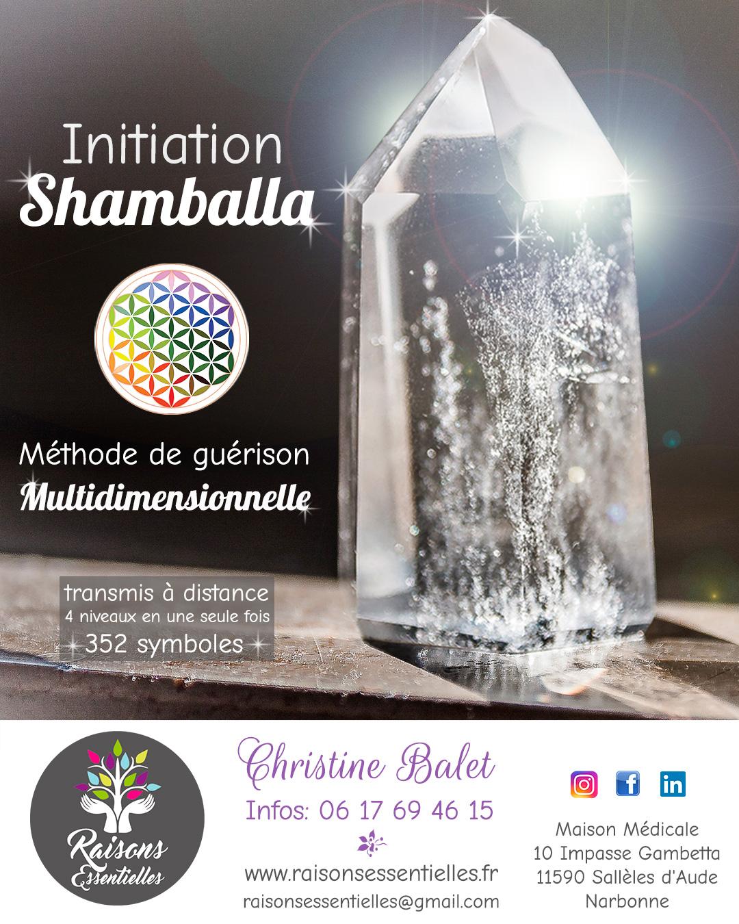 digykan - création bannière - Raisons Essentielles Christine Balet - initiation Shamballa